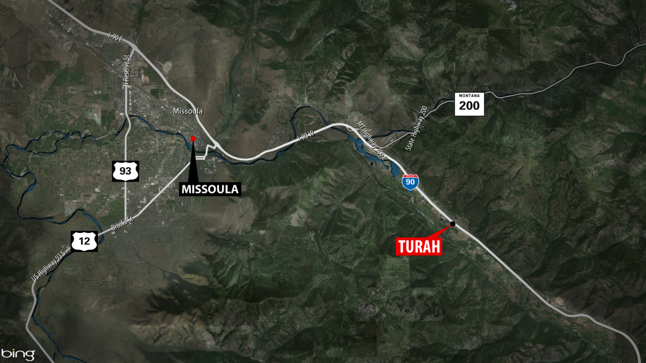 Fatal I-90 Turah Accident