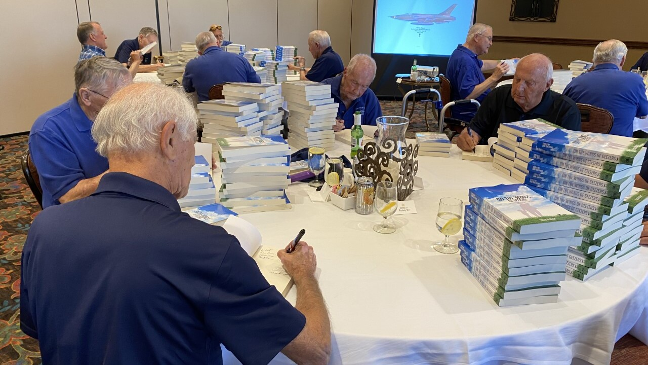 The Friday Pilots sign new book