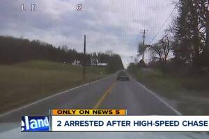 Woman ran officer off the road while he was chasing her boyfriend, police say