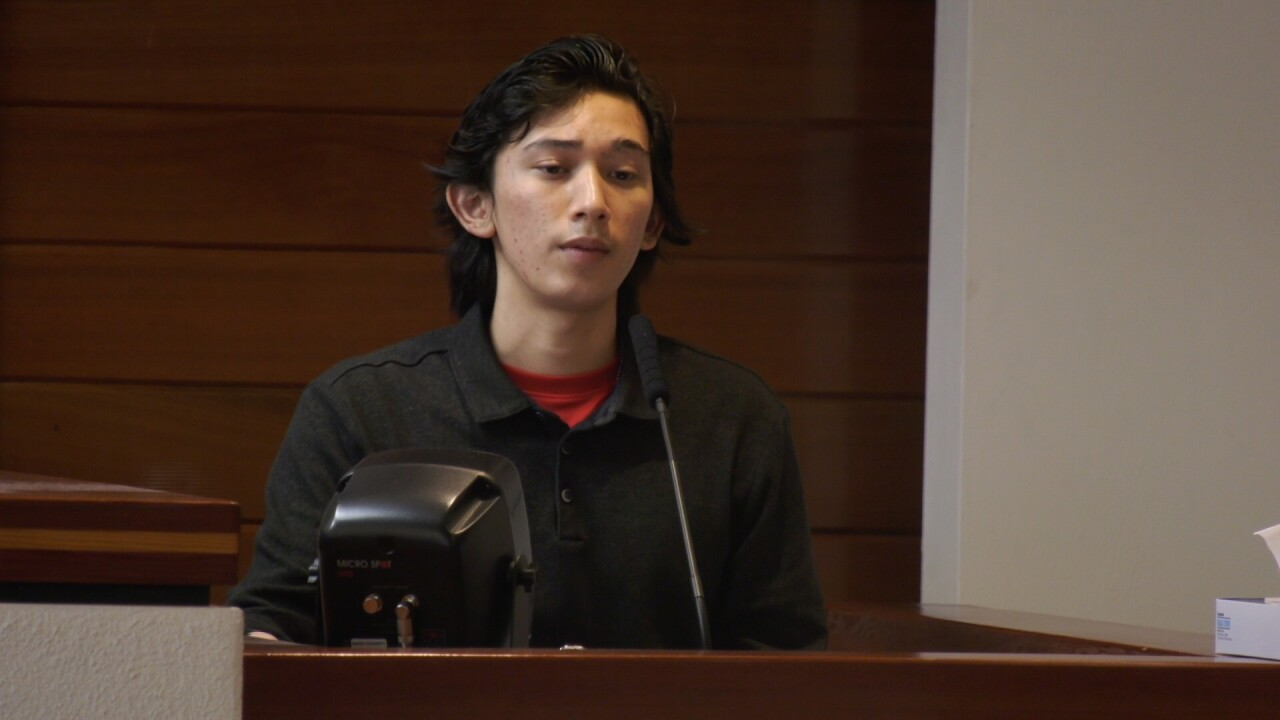 'I was afraid of my dad:' Suspect's son testifies against him at homicide trial