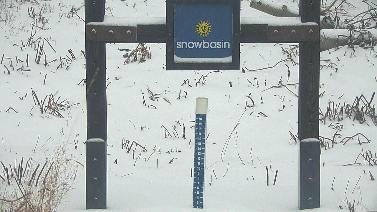 Snowbasin snow