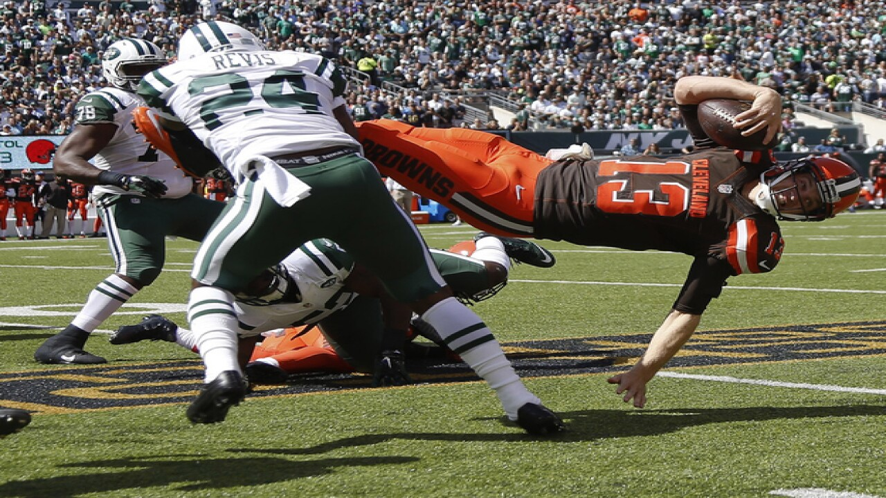 PHOTO GALLERY: Browns battle Jets in Week 1