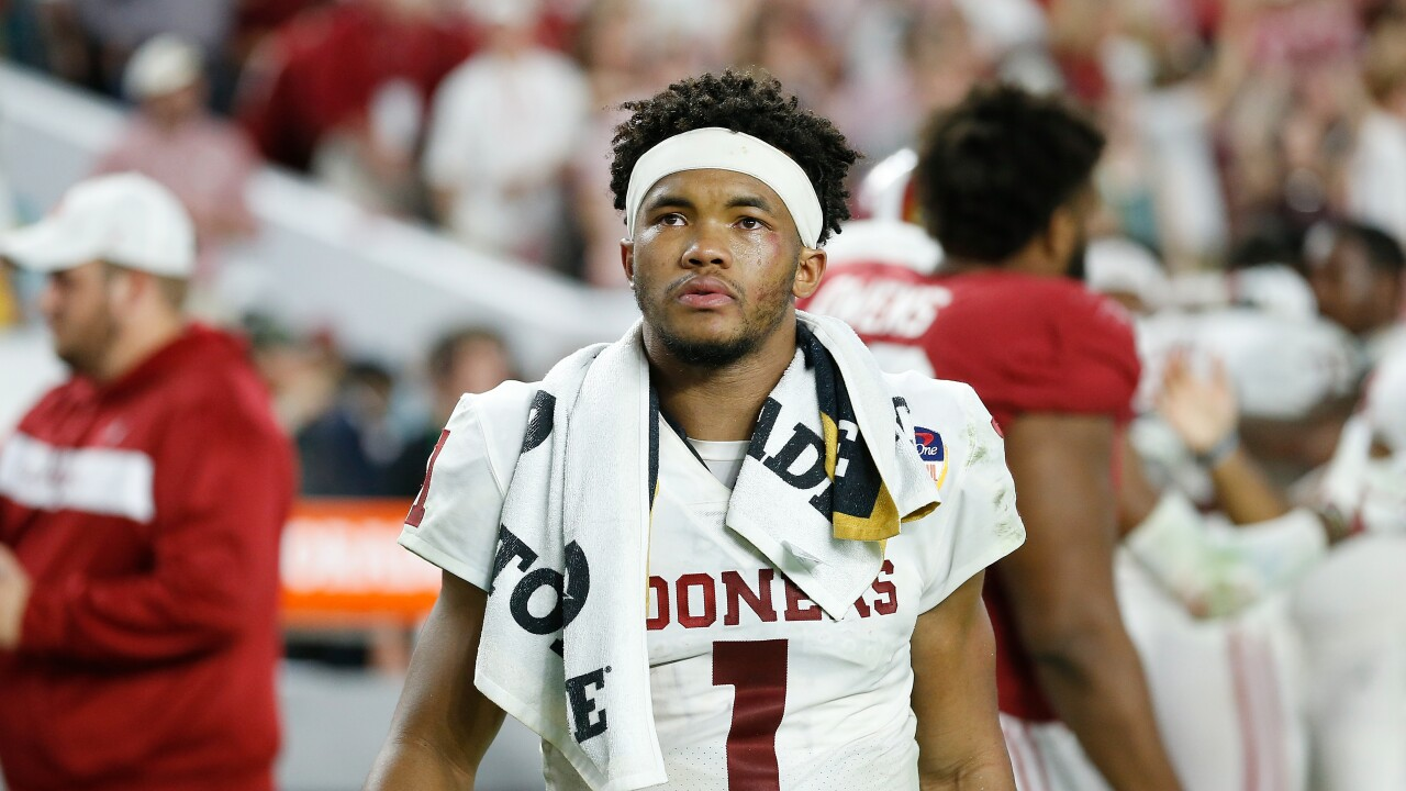 Arizona Cardinals select quarterback Kyler Murray with No  1