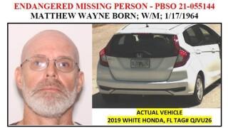 WPTV Matthew Wayne Born missing