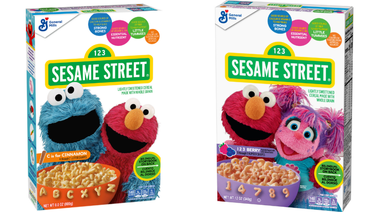 Sesame Street Cereal to hit grocery store shelves next month