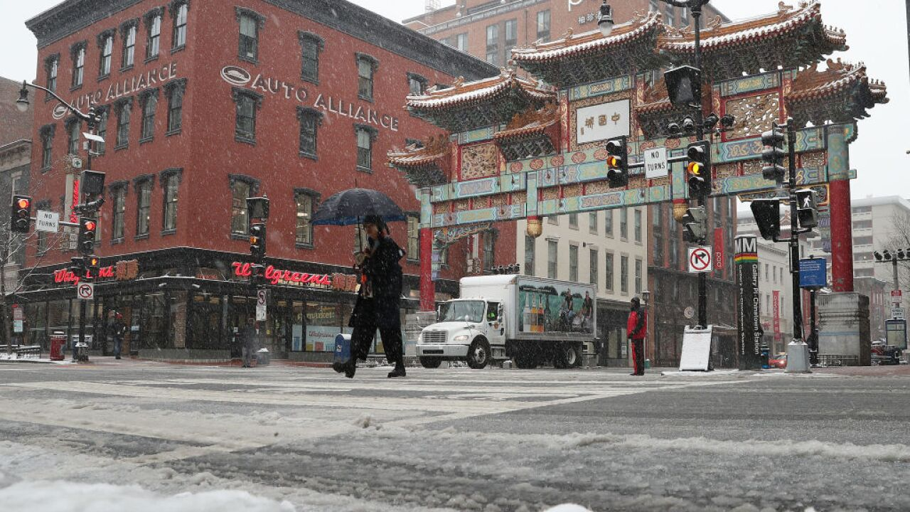 80 million people under winter alerts from Colorado to Maine as snowstorm hits
