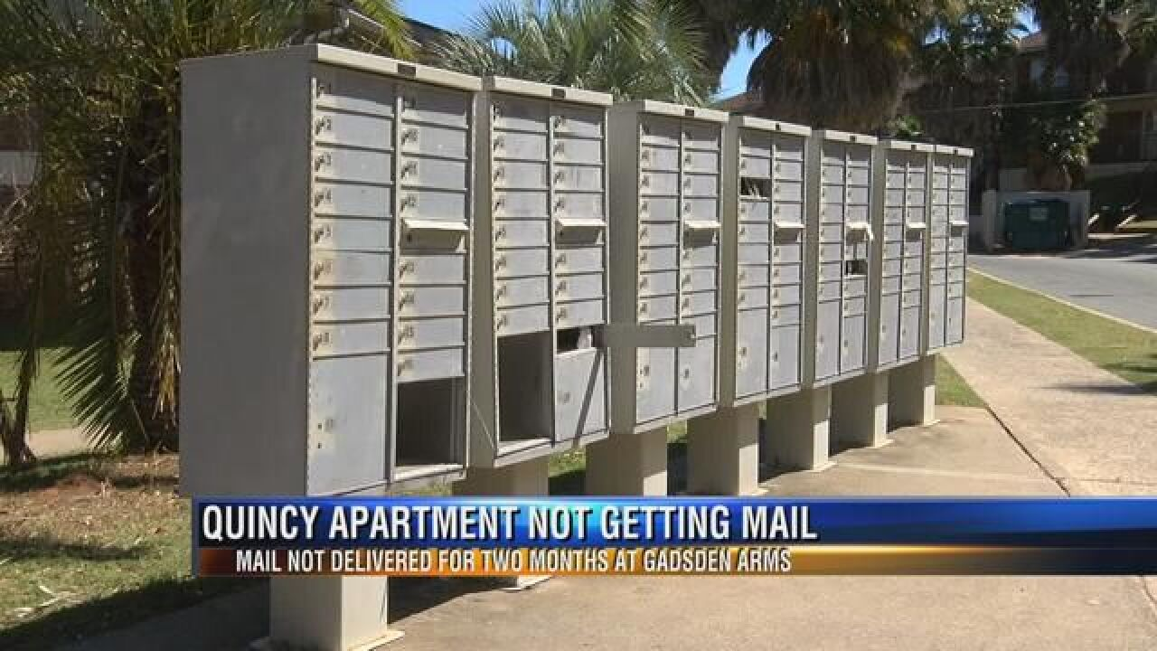 Gadsden Arms Complex Residents Complain about Missing Mail