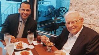 ARod and Buffett.JPG
