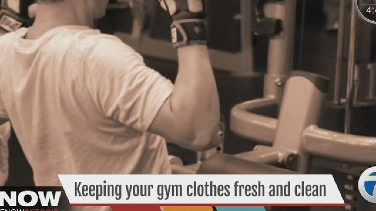 Getting germs out of your gym clothes