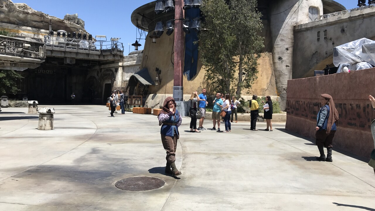 Experience what's cool at Disneyland's Star Wars: Galaxy's Edge