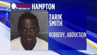 Taking Action Against Crime: Hampton Police looking for man wanted for robbery, abduction