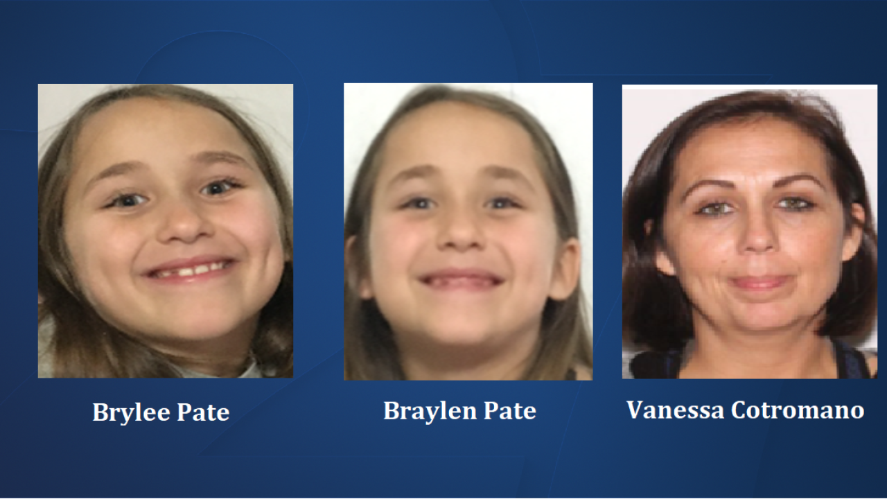 Florida Missing Child Alert issued for missing sisters from Washington County