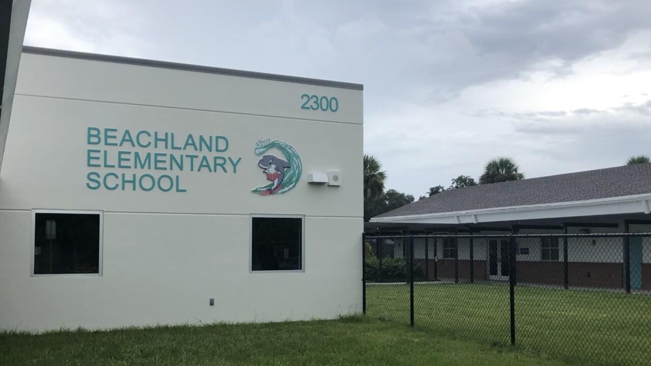 Beachland Elementary School in Vero Beach on Aug. 27, 2021.jpg