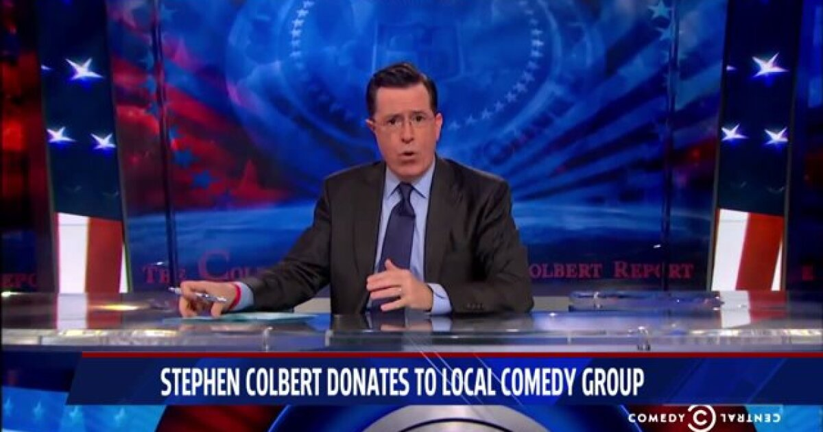 Gr Comedian S Non Profit Gets 10k Boost From Stephen Colbert I'm not afraid to say it. fox 17