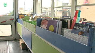 Gaining Ground Literacy bookmobile