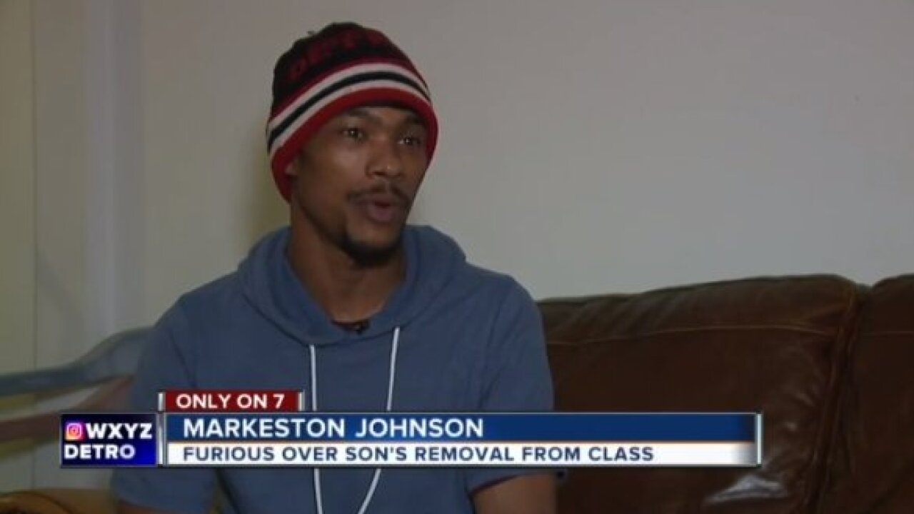 Michigan father 'enraged' after seeing video of his son being violently removed from classroom