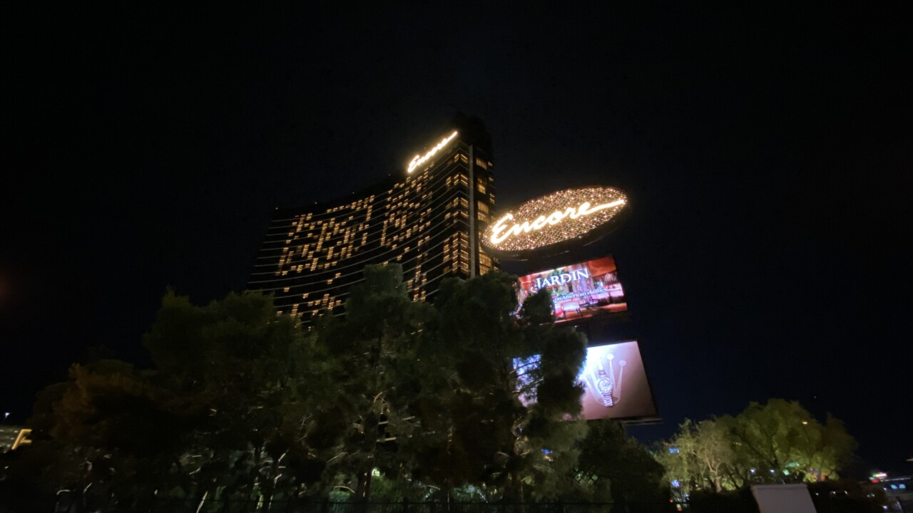 These are images of the Encore hotel and casino located on Las Vegas Boulevard and is owned by the Wynn.