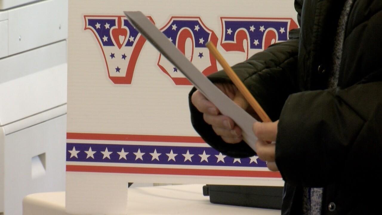 vote sign ballot