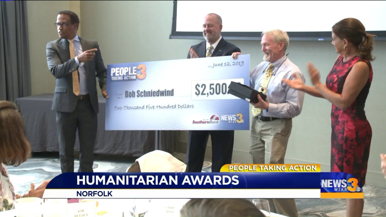 Local coach and mentor receives 2019 People Taking Action Humanitarian award