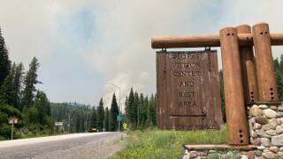 Lolo Creek Fire