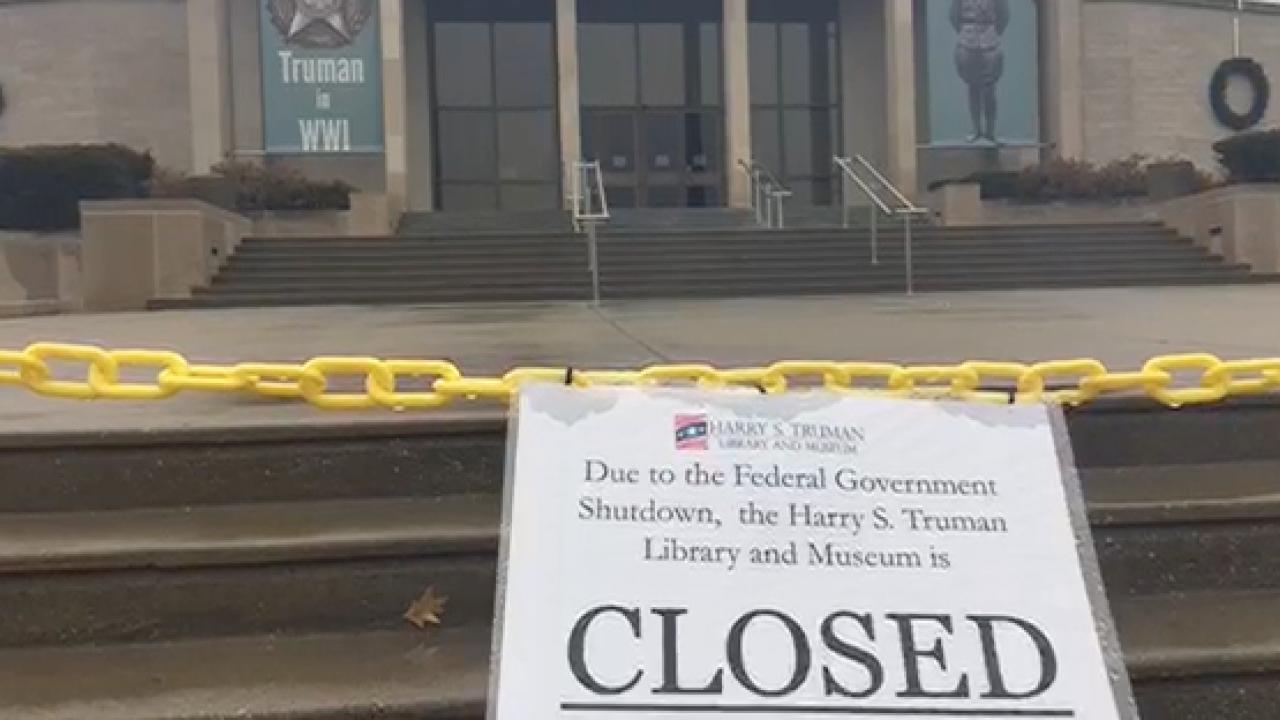 Truman museum closed