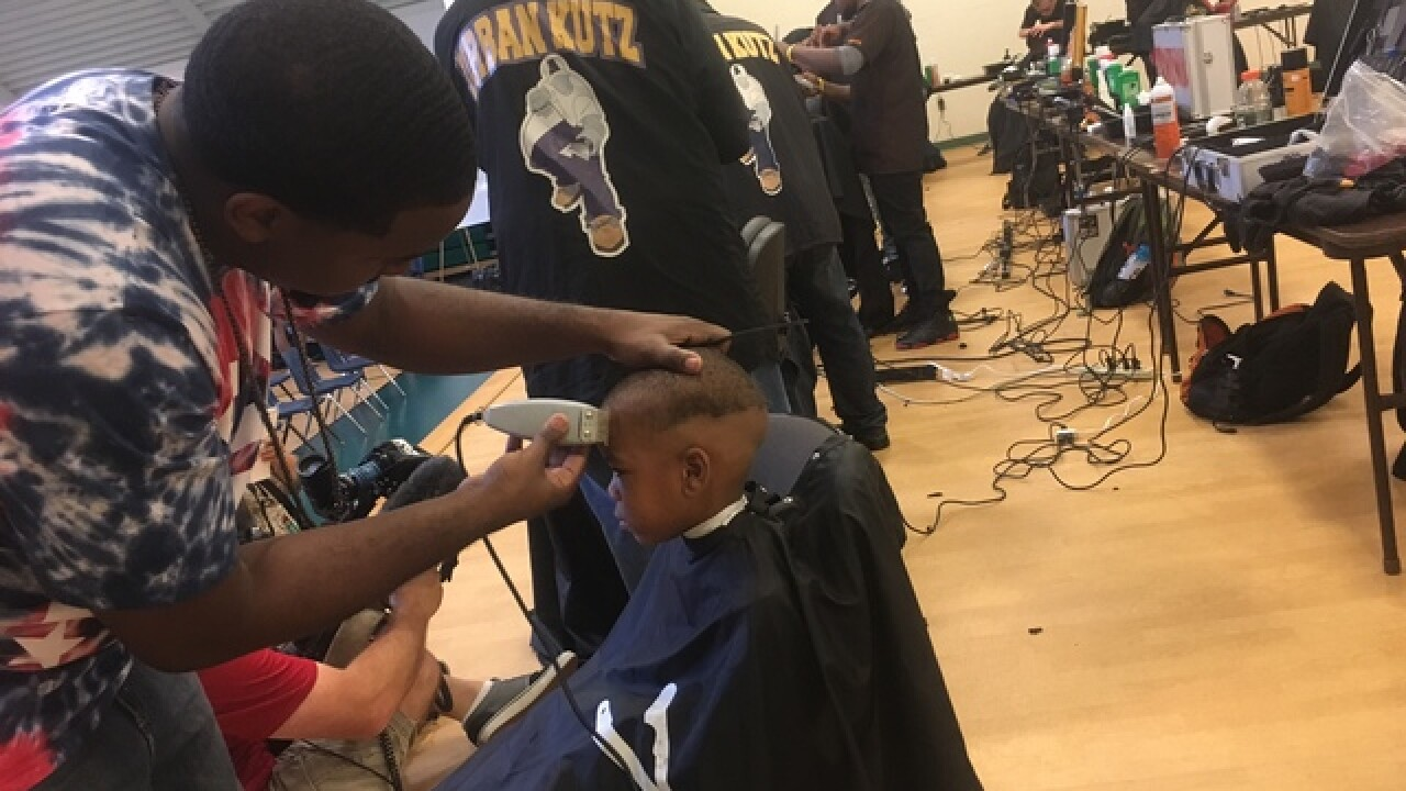 Free back-to-school haircuts for Cleveland kids