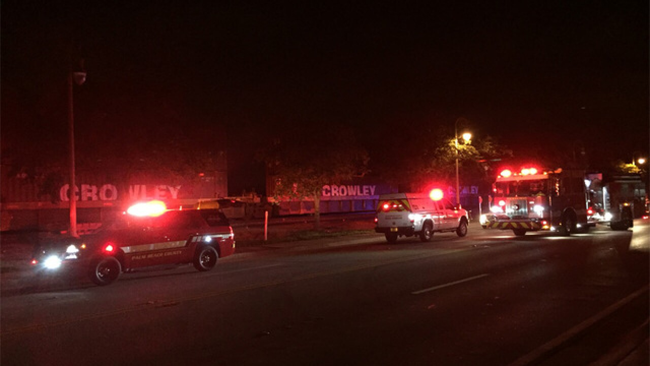 Pedestrian injured in Lake Worth train accident