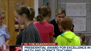 In the Classroom: Swanson Elementary teacher wins presidential award of excellence