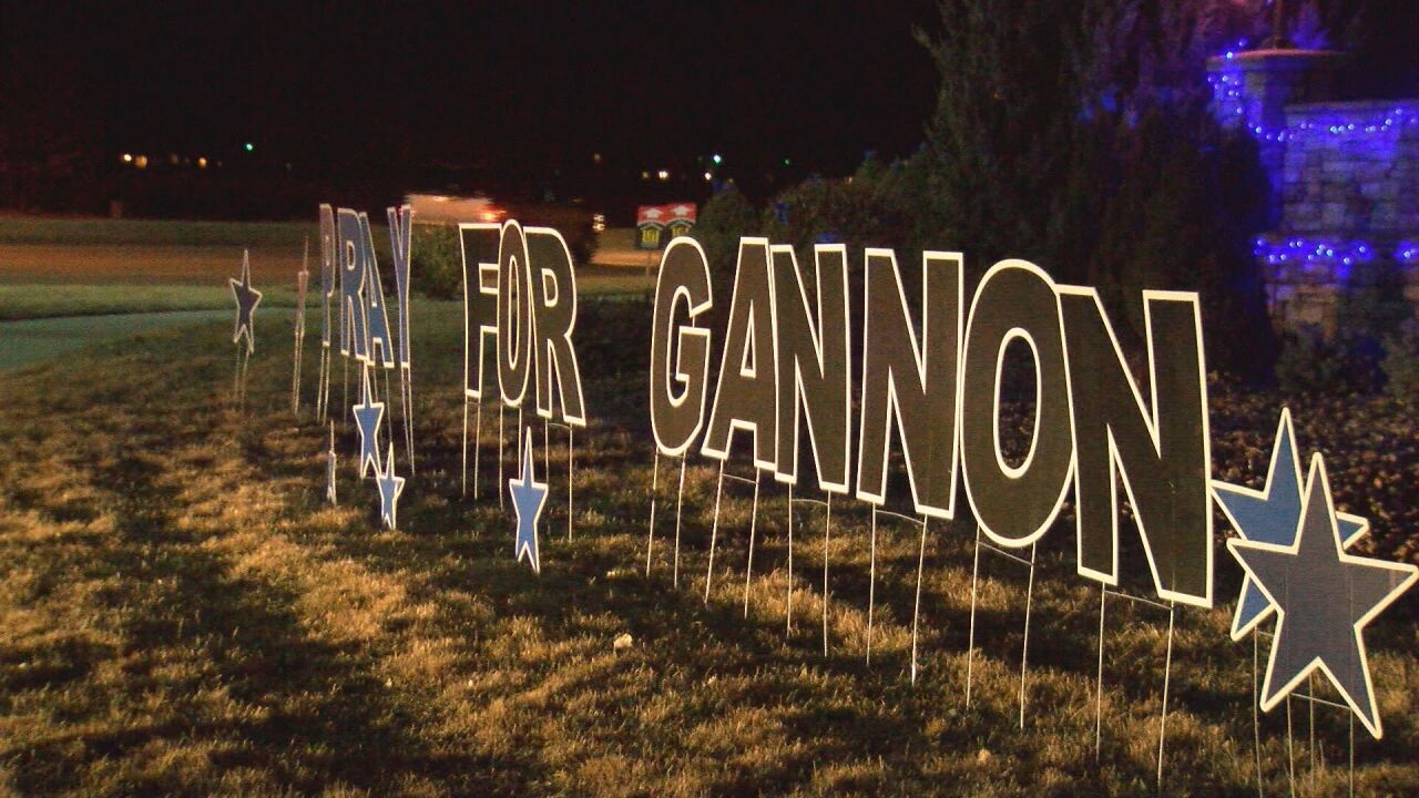 Gannon sign outside of Lorson Ranch