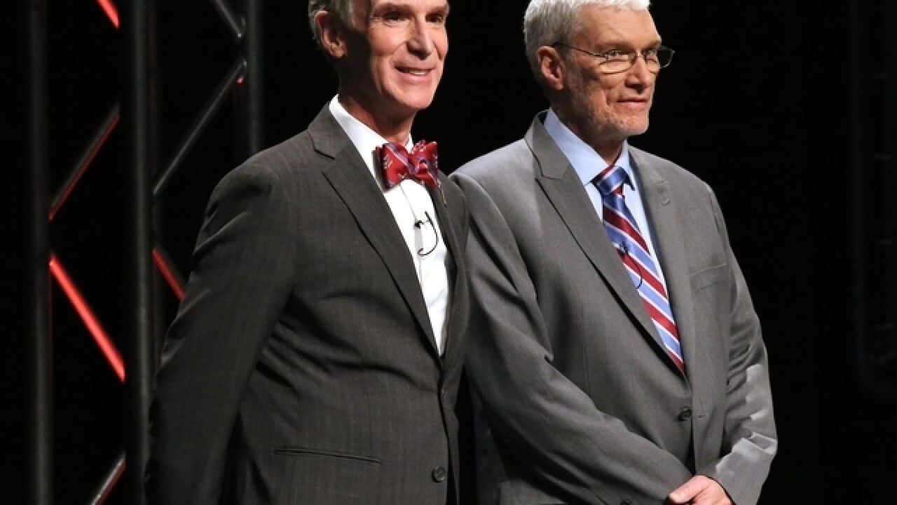 Bill Nye gets private tour of Noah's Ark replica