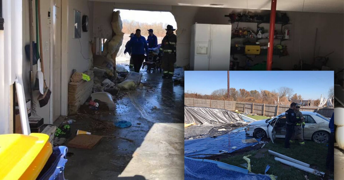 Local News 1 injured after car drives through house in Smithville 41 Action News Staff 3 - KSHB