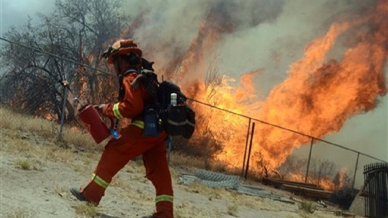 Ferocity of Calif. wildfire never before seen by fire crews