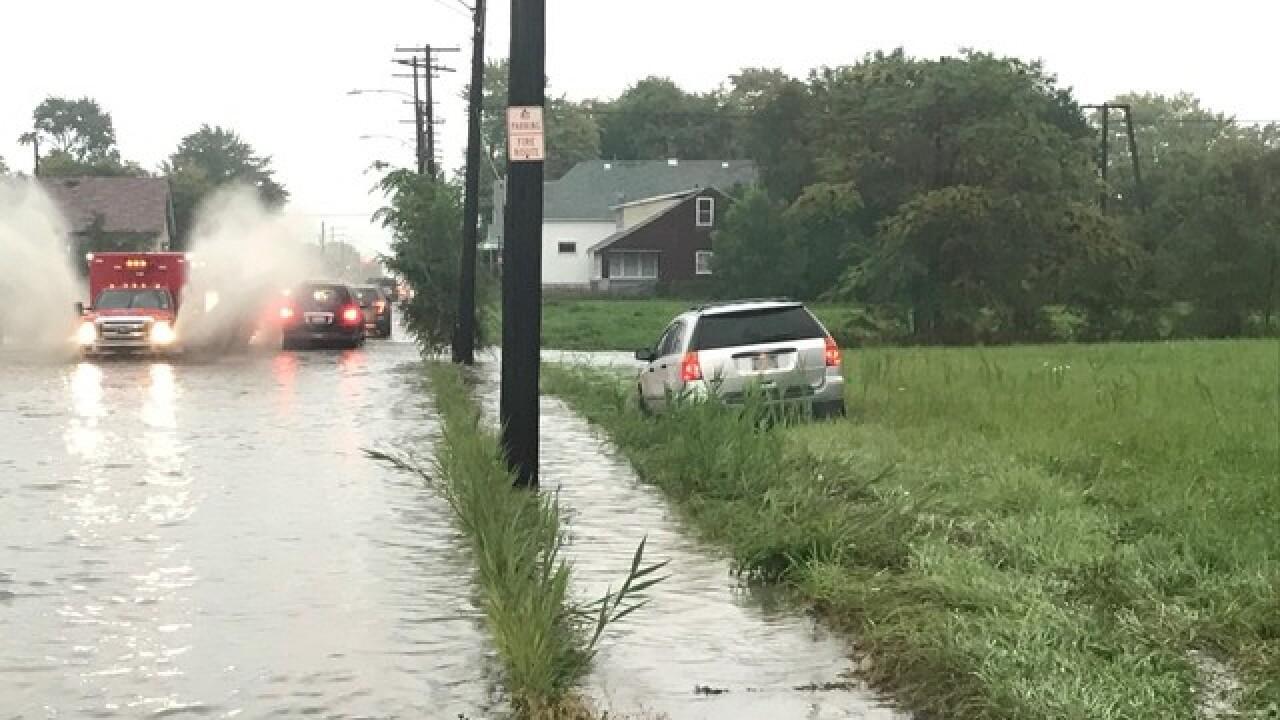 PHOTOS: Flooding across metro Detroit