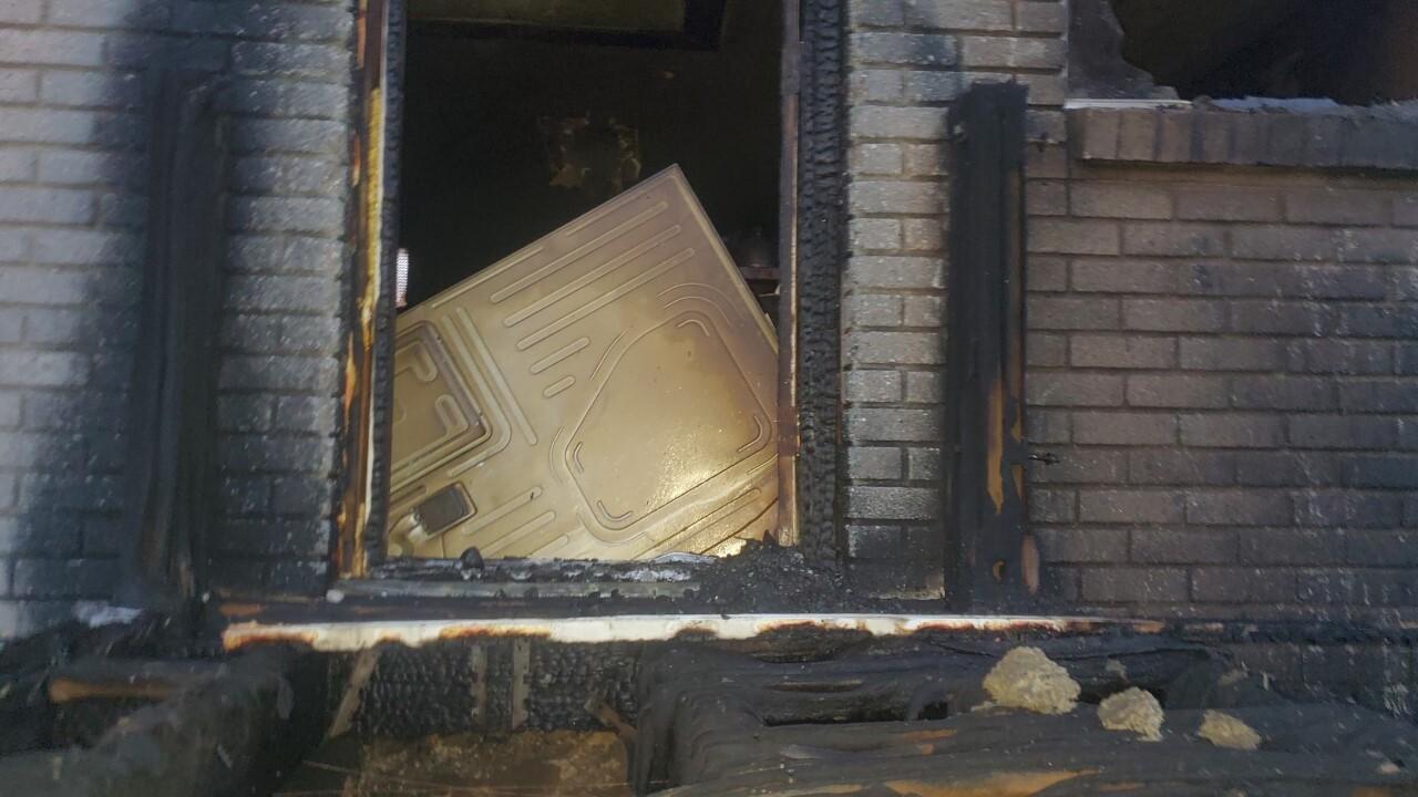 Garland house fire