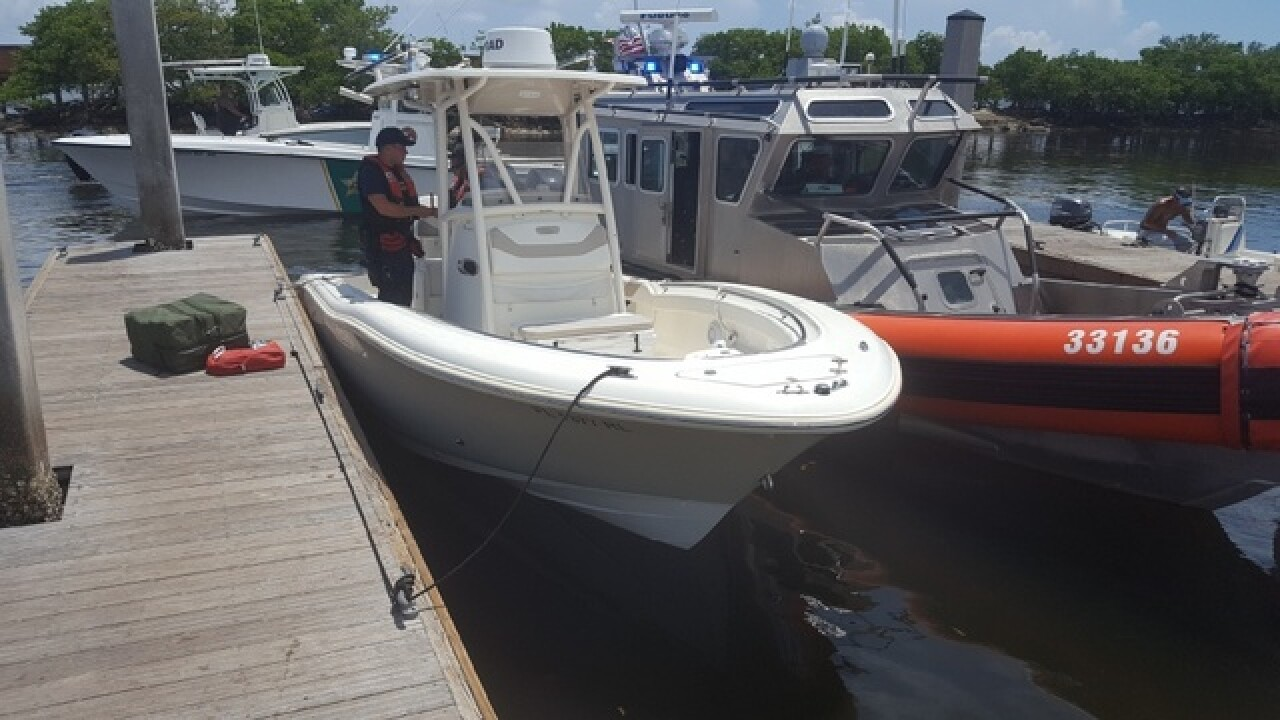 Coast Guard rescues injured boater to Boynton Beach