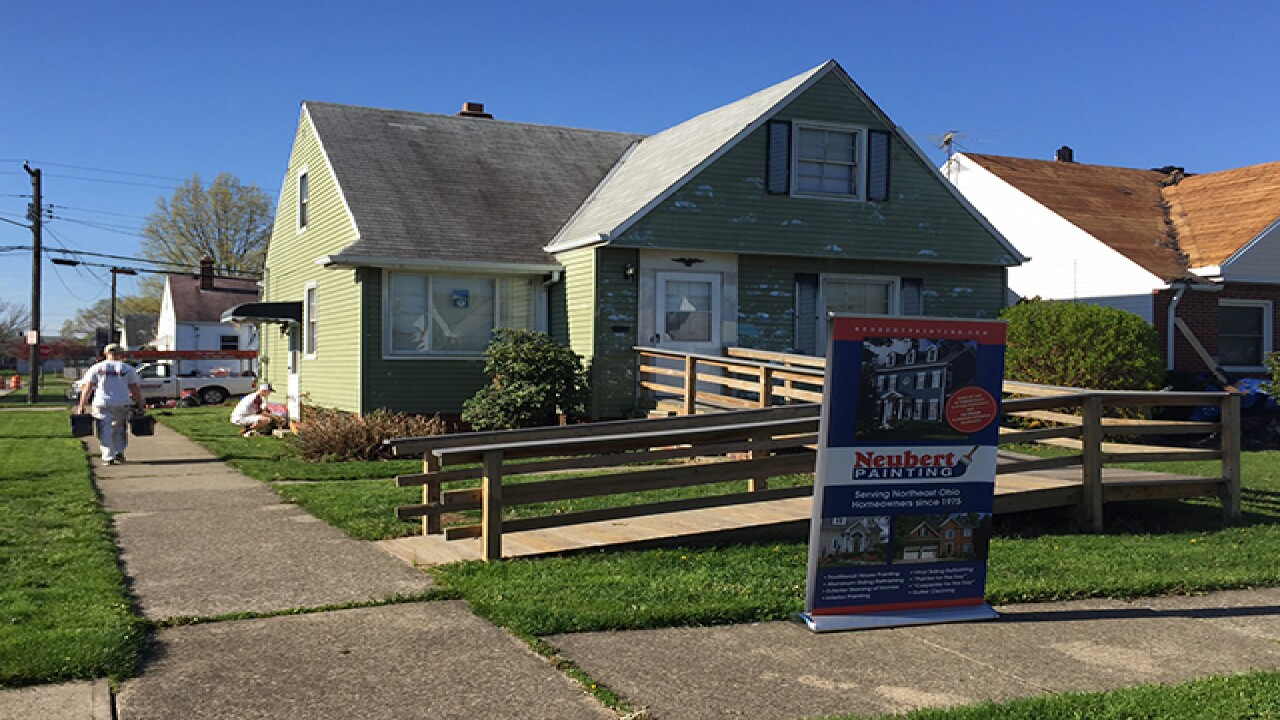 House egged more than 100x gets free paint job