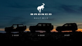 Ford will reveal 2 versions of the all-new Bronco next Monday
