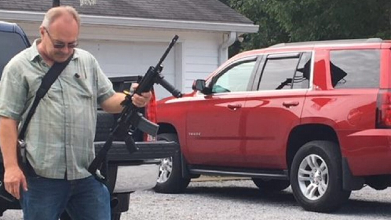 Neighbors React To Fatal Carjacking In Wallace Manhunt