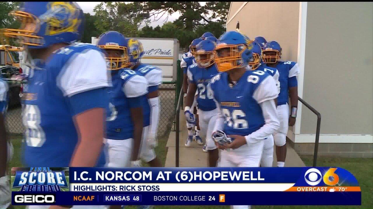 Hopewell gets revenge on Norcom46-25