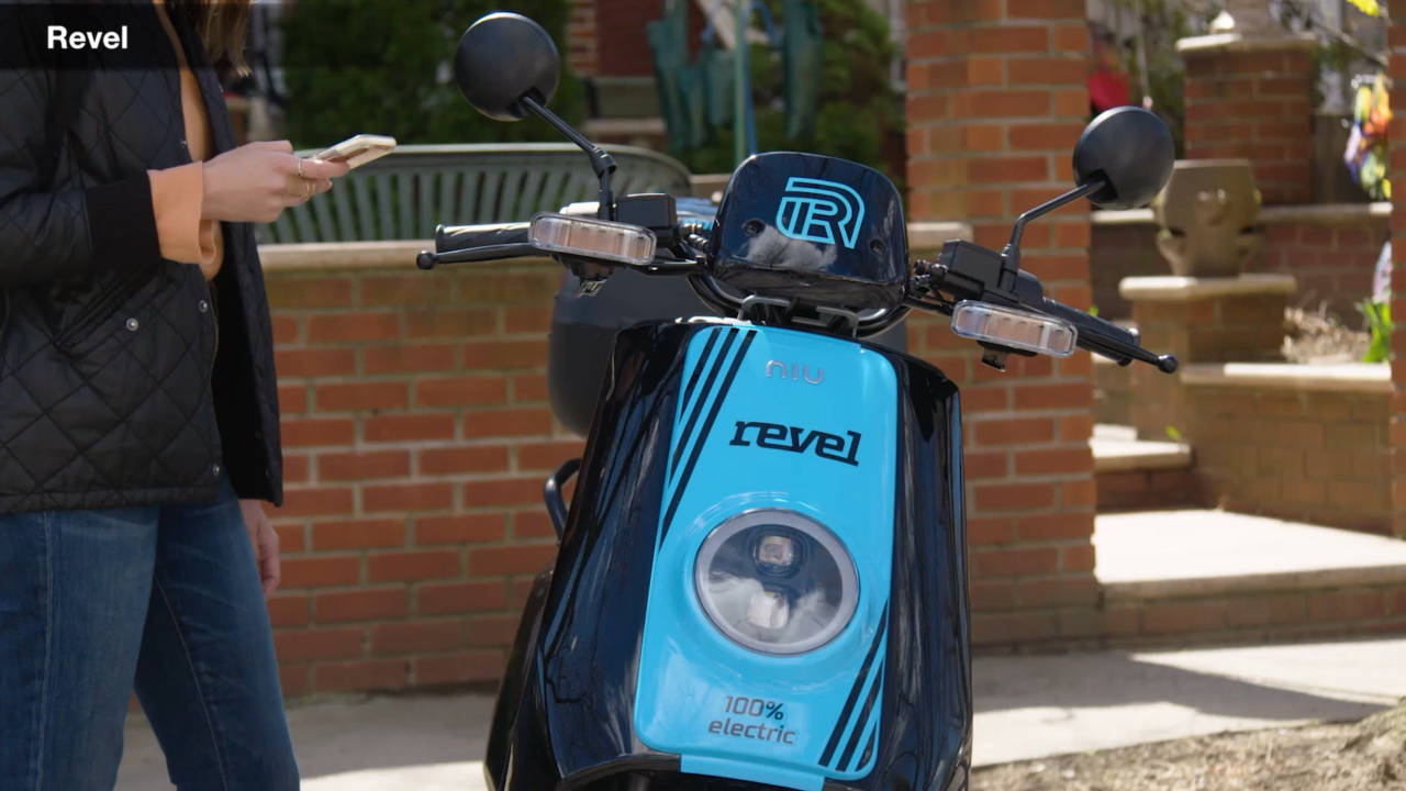 New on-demand transportation popping up in cities: electric mopeds