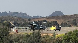 Camp Pendleton helicopter forced to make emergency landing in Fallbrook