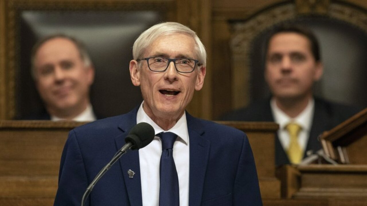 tony evers state of state