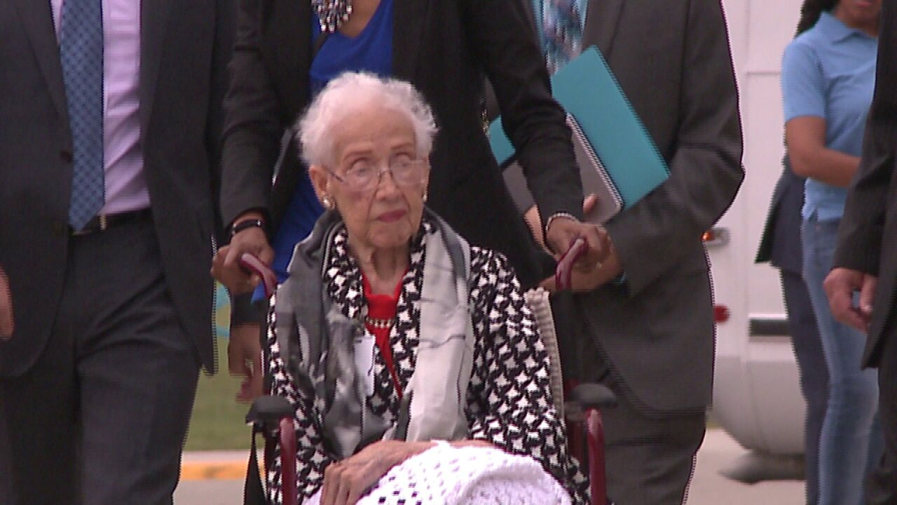 NASA mathematician Katherine Johnson turns 100