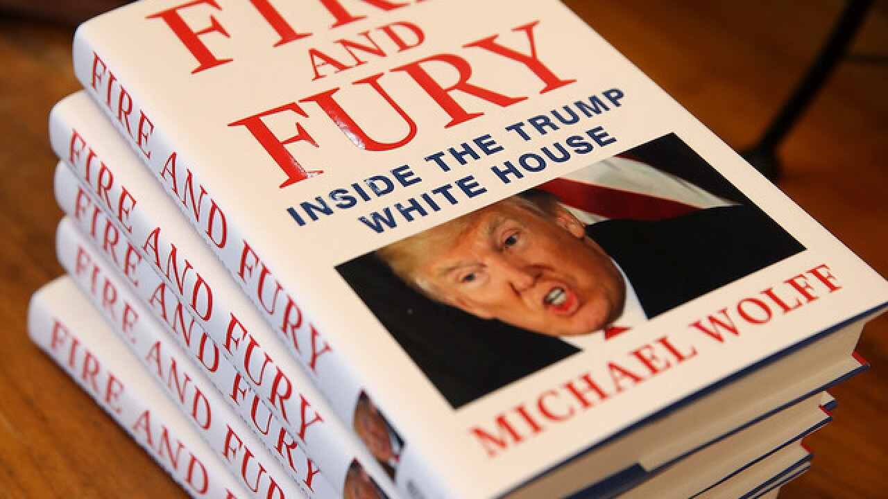 CEO of 'Fire and Fury' publisher responds to Trump legal threat