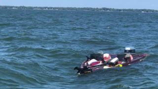 Lake Erie sinking boat