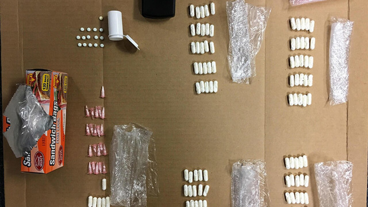 Car stop leads to found drugs, two men arrested