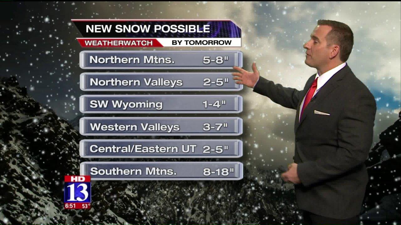 Snow is coming; get winter storm updates with Fox 13app