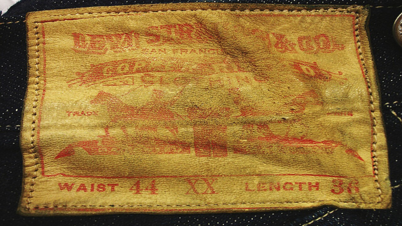 Pair of Levi's from 1893 up for auction