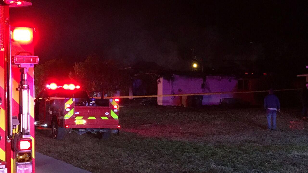 Cape house fire