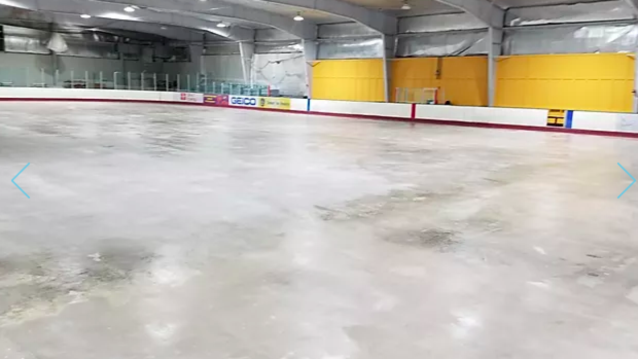 Maryland opens temporary morgue at ice rink amid pandemic